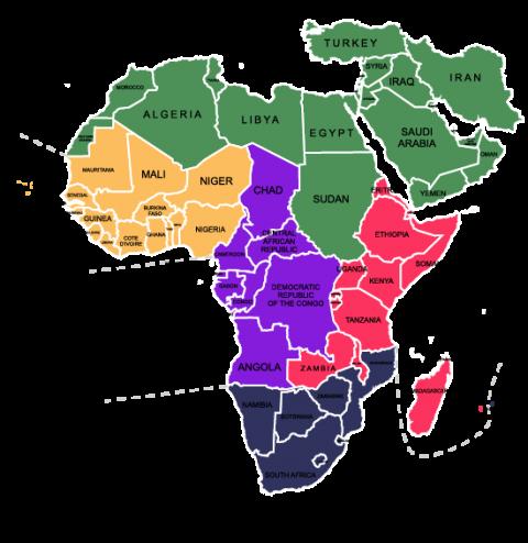 Middle East and Sub  Saharan Africa  Libera International